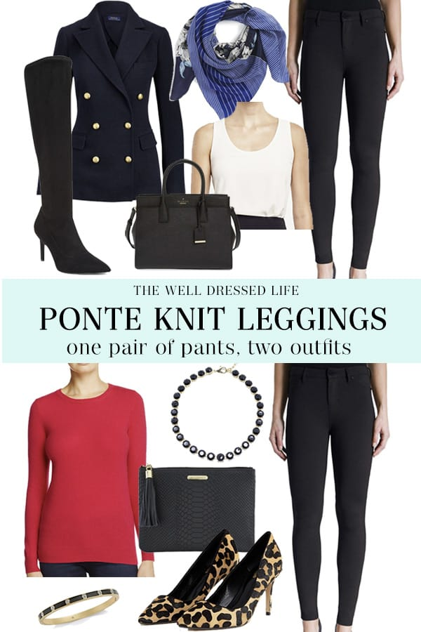 Liverpool Ponte Knit Legging - The Well Dressed Life
