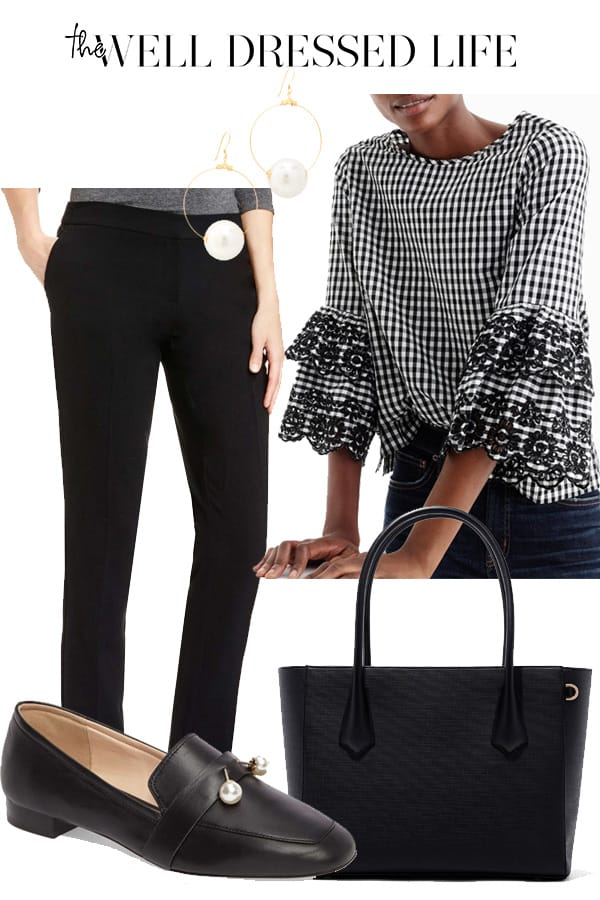 Wear to Work: Feminine Loafer - The Well Dressed Life