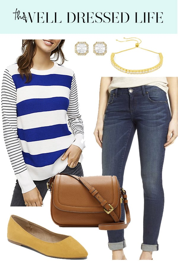 Weekend Inspiration: LOFT Striped Sweater - The Well Dressed Life