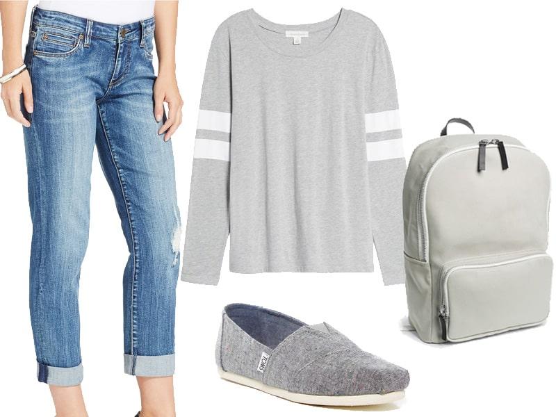 Weekend Inspiration Varsity Tee Wear Now