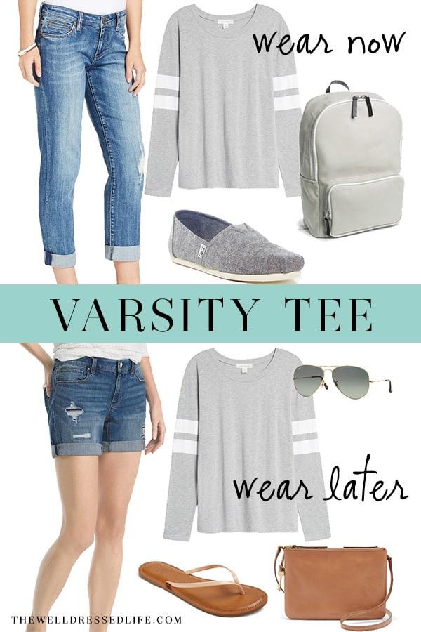 Weekend Inspiration Varsity Tee