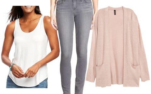 Weekend Inspiration: Cozy Pink Cardigan
