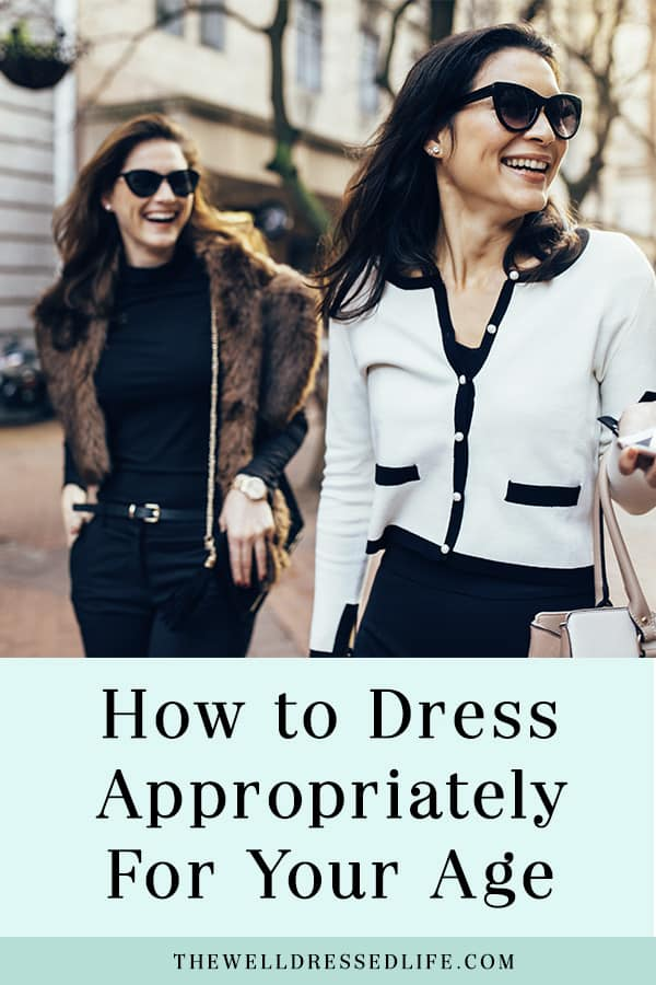 How to dress appropriately for your age