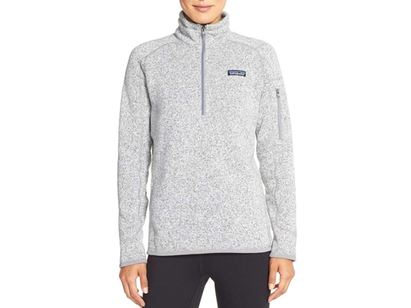 """Weekend Inspiration: Patagonia """"Better Sweater"""" Zip Pullover"""