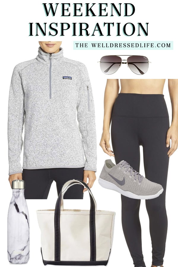 """Weekend Inspiration: Patagonia """"Better Sweater"""" Zip Pullover - The Well Dressed Life"""
