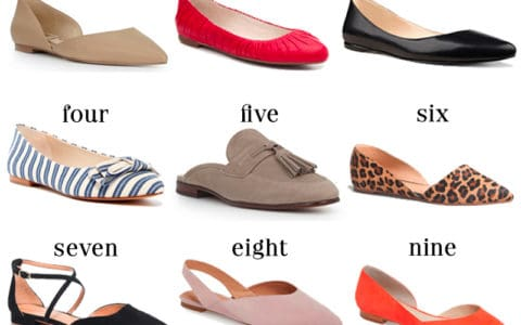 Wear to Work: Flats for the Office