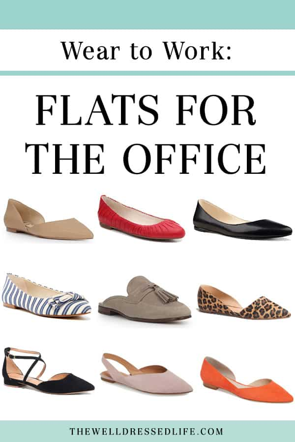 Wear to Work: Flats for the Office - The Well Dressed Life