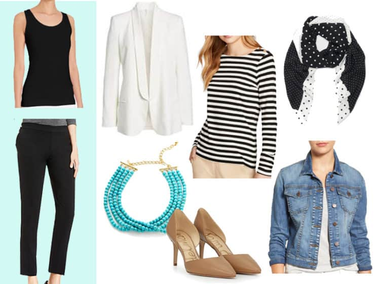The 7 Pieces To Wear with Black in the Spring