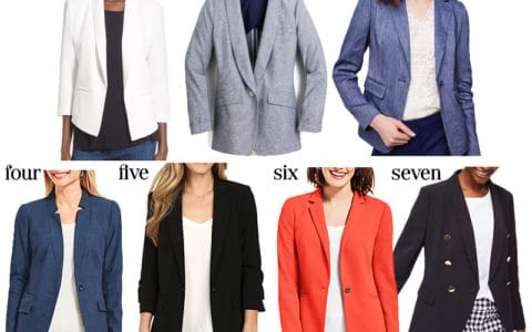 they add some much needed structure to an outfit and really pull together a look, which is especially important for work.Spring and summer appropriate blazers are tricky. If you want the best selection of style and price points, now is the time to shop.