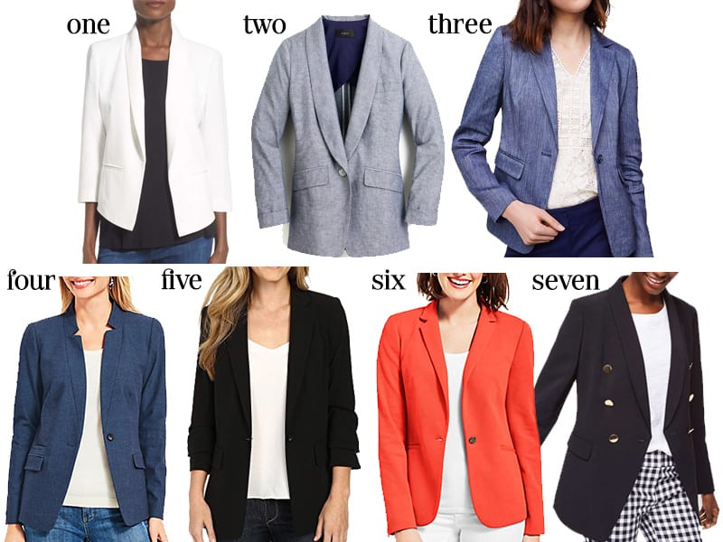 Springtime Blazers for Work