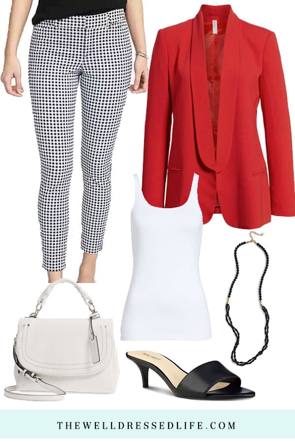 How to Wear Patterned Pants to Work