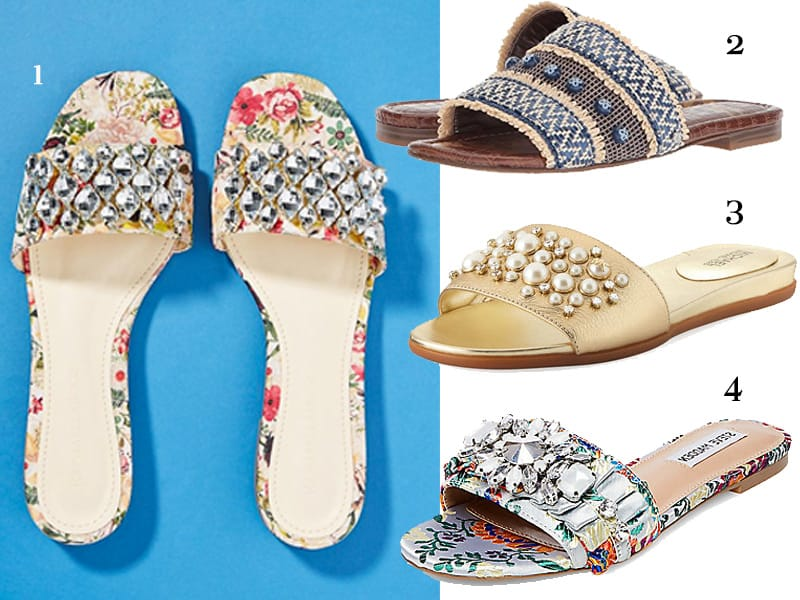 authentic wide range newest Fancy Summer Slides to Jazz Up Your Basics | The Well Dressed Life