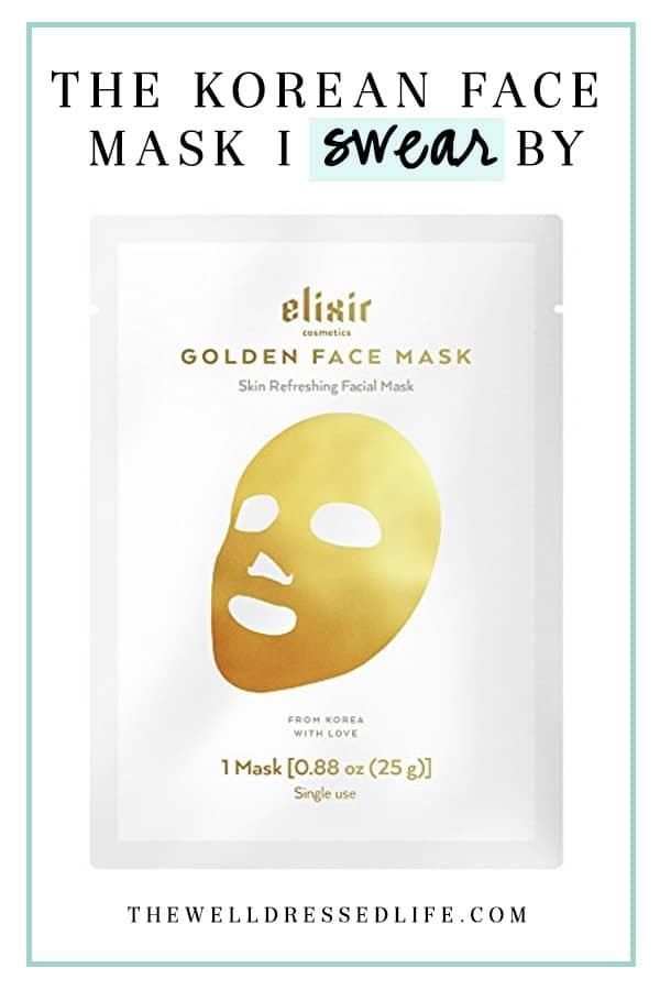 The Korean Face Mask I Swear By - The Well Dressed Life