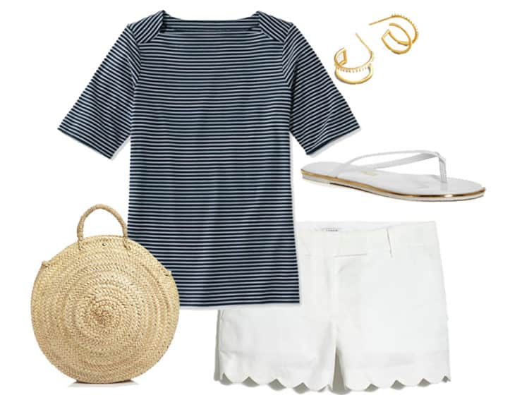 Summer BBQ Style - Shorts and Tee