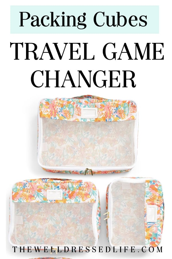 Packing Cubes: Travel Game Changer - The Well Dressed Life