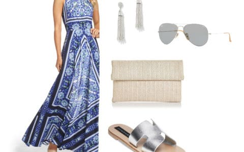 Weekend Inspiration - Easy Breezy Maxi Dress