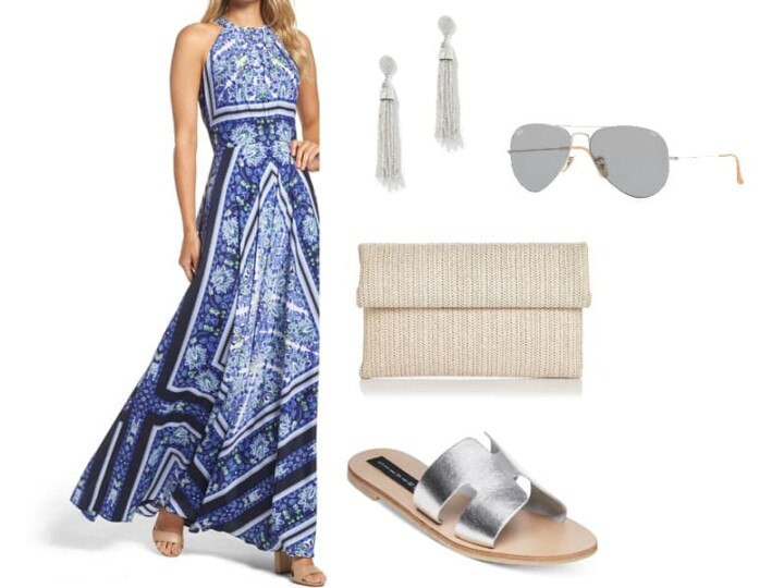 How to Wear a Maxi Dress on the Weekend