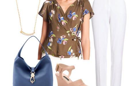 Wear to Work: Olive Florals