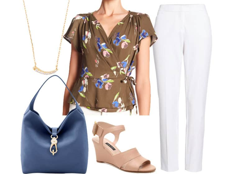 Wear to Work: Olive Florals