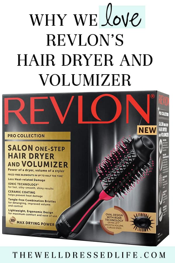 Why We Love Revlon® Oval One-Step Hair Dryer & Volumizing Styler - The Well Dressed Life