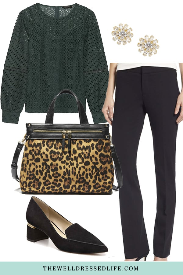 Wear to Work: Leopard and Lace - The Well Dressed Life