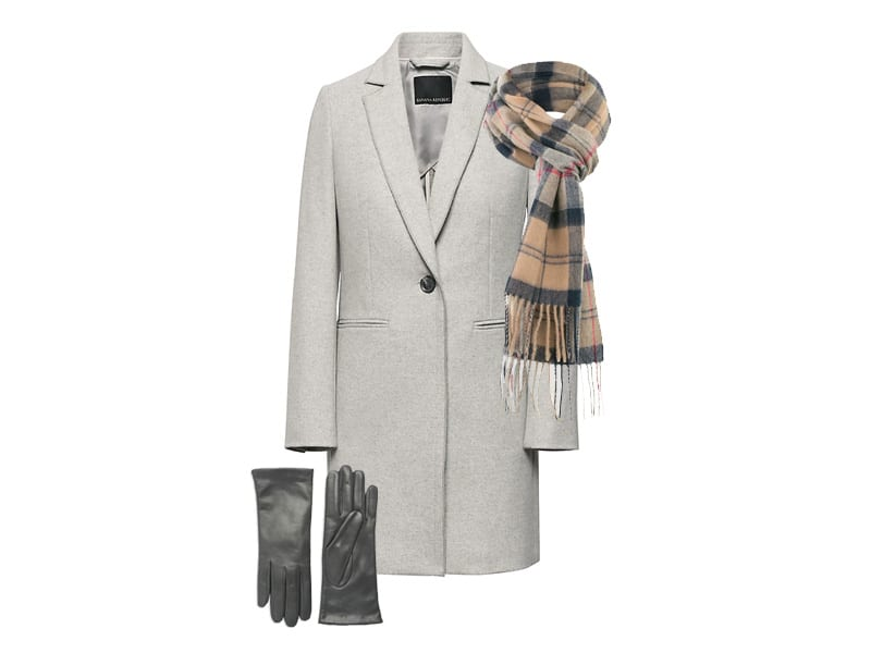 5 Coat, Scarf, and Glove Combinations for Work