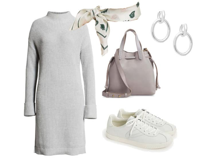 Weekend Outfit Inspiration: Sweater Dress Two Ways