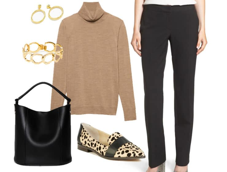 Wear to Work: Black and Tan