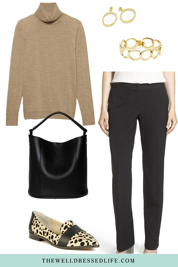 Wear to Work: Black and Tan - The Well Dressed Life