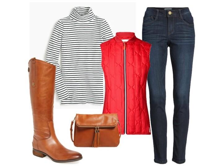 Weekend Inspiration: Striped Turtleneck