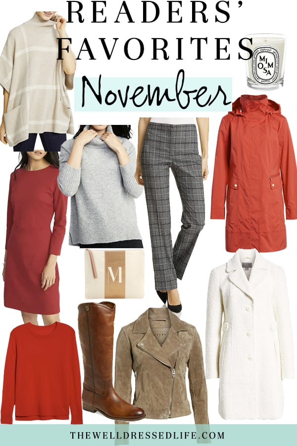 Readers' Favs - November 2018