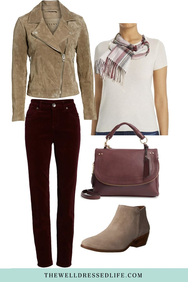Weekend Outfit Inspiration - Corduroy Pants