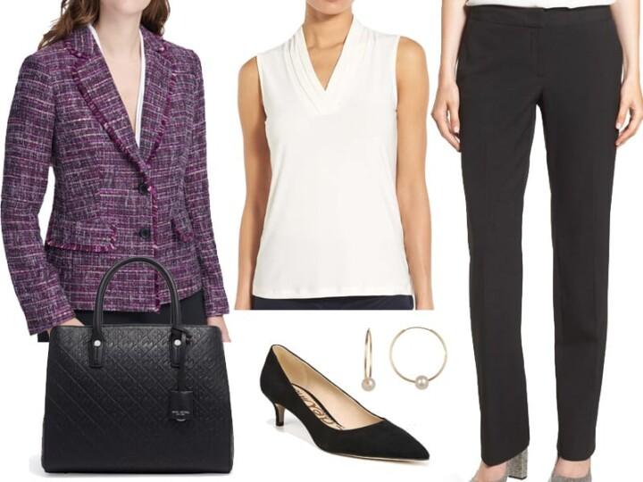 Wear to Work: The Perfect Tweed Blazer
