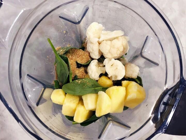 Secret Ingredient Tropical Spinach Smoothie