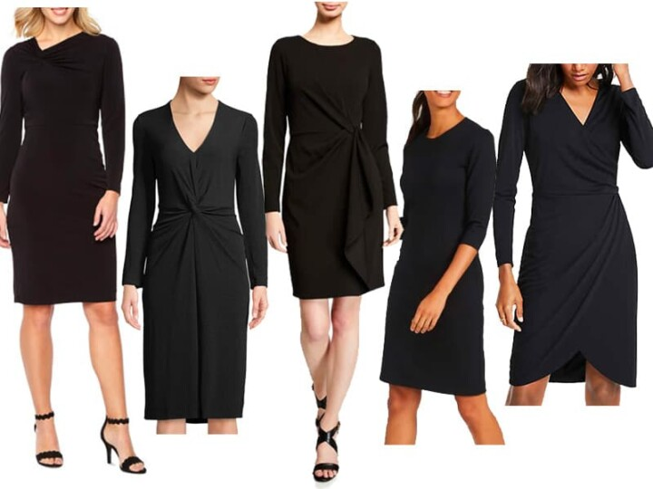 Wear to Work: 5 Black Dresses for the Office that Aren't Boring