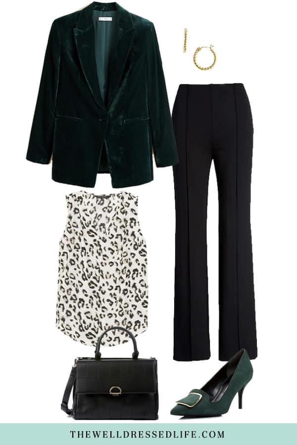 Wear to Work: Velvet Blazer