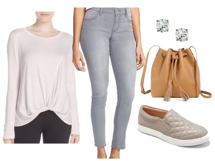 Weekend Outfit Inspiration: Gray Jeans