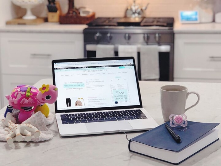 How to be Productive as a Work From Home Mom