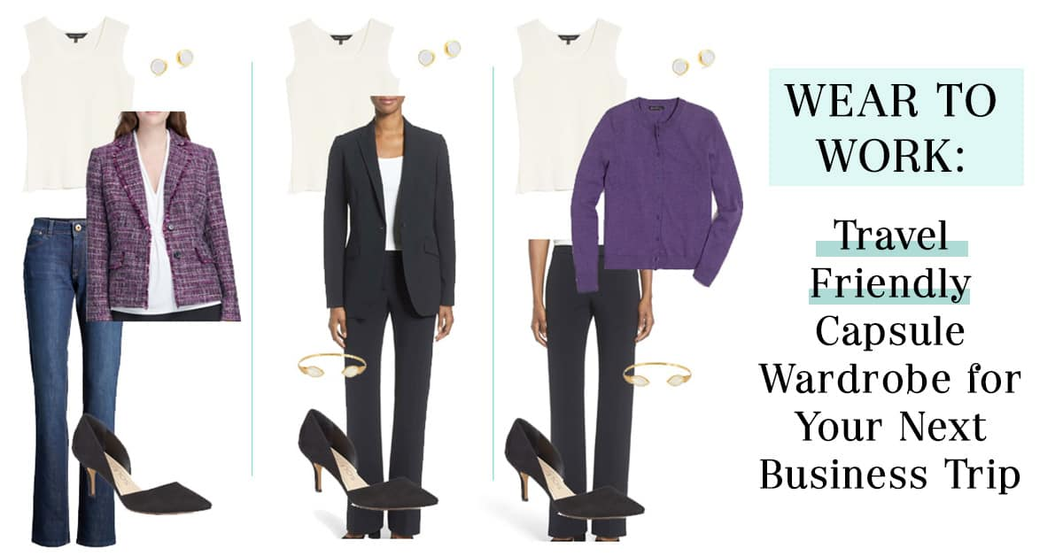 a362e1fe771 Wear to Work  Travel Friendly Capsule Wardrobe for Your Next Business Trip