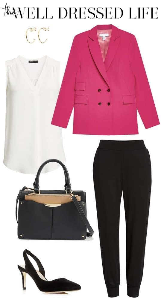 Wear to Work: Hot Pink Blazer