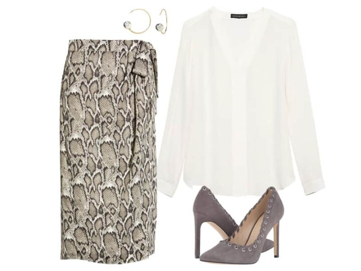 Wear to Work: One Skirt Two Ways