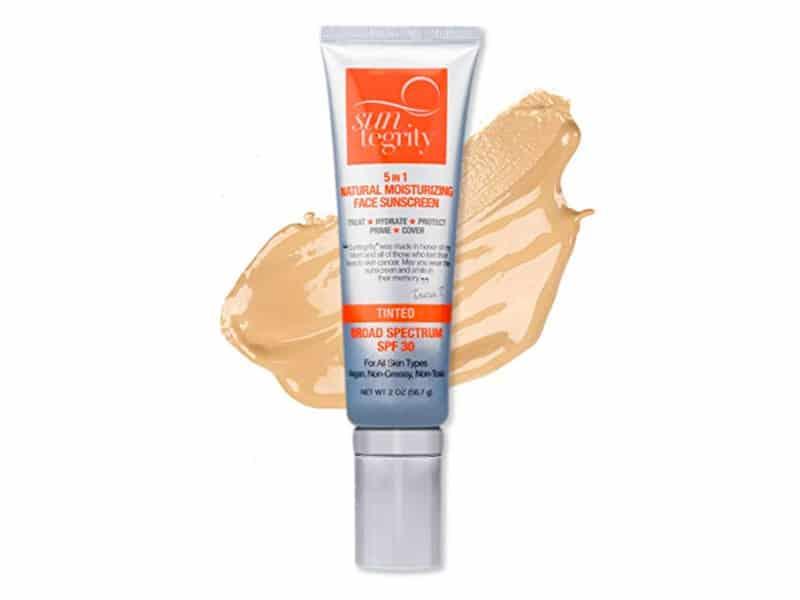 Suntegrity 5 in 1 Tinted Natural Moisturizing Face Sunscreen