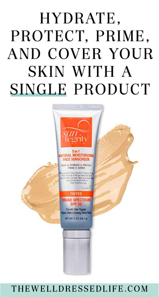 Hydrate, Protect, Prime, and Cover Your Skin with A Single Product