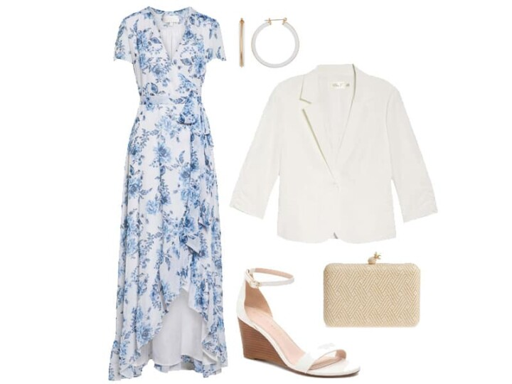 Weekend Outfit Inspiration: Floral and Feminine Maxi Dress