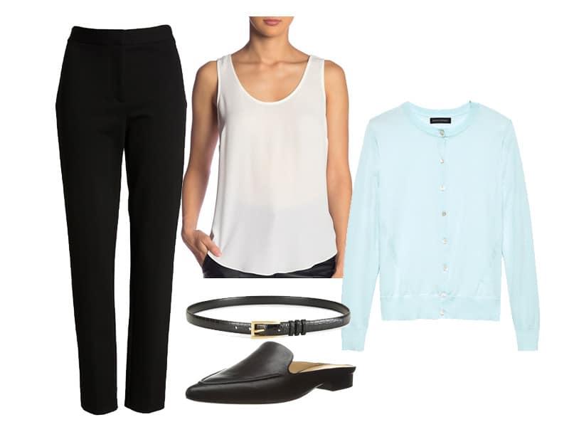 Wear To Work: Black Pants