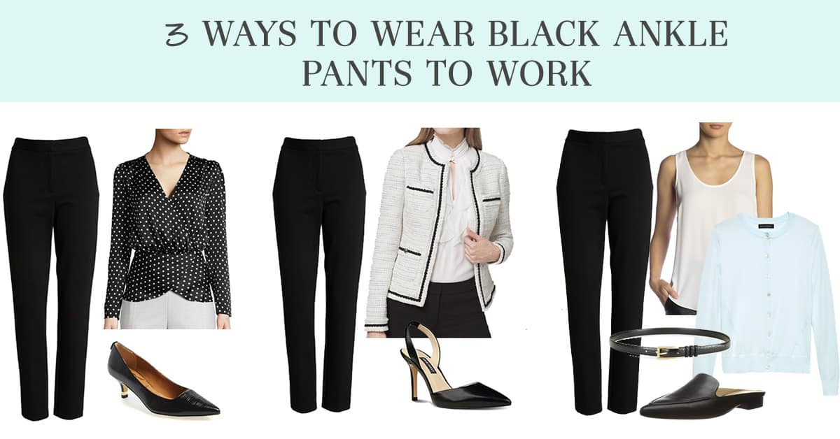 ankle pants for work