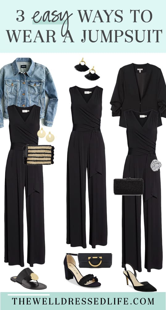 How to Wear a Jumpsuit 3 Ways and Style Tips