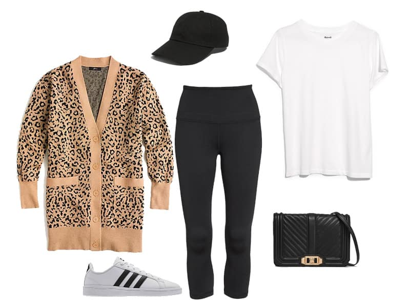 How to Style a Leopard Cardigan for the Weekend