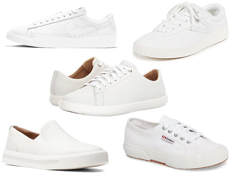 White Sneakers that go with everything