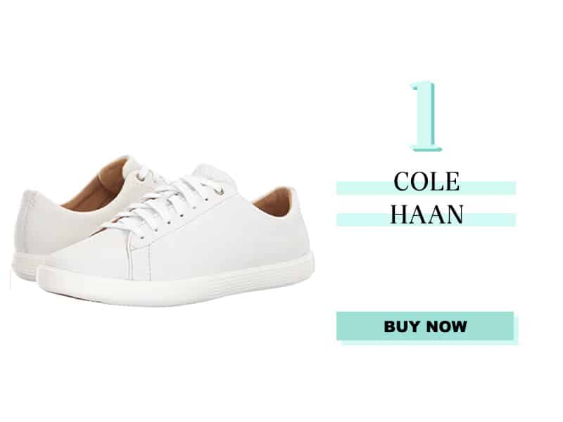 Cole Haan White leather sneaker